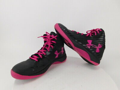 f4255847 NEW! UNDER ARMOUR Women's Jet Basketball Shoes Blk/Hot Pink #1259035 ...