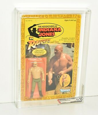 Kenner 1982 Indiana Jones Raiders of the Lost Ark German Mechanic AFA 80+ MOC