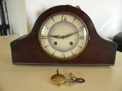 Vintage Junghans Mantle Clock Not Running Parts Or Repair W-274