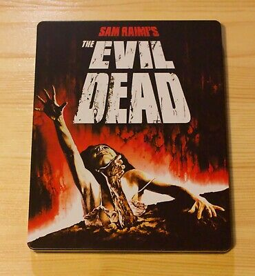 The Evil Dead (Blu-ray, UK SteelBook) Rare OOP