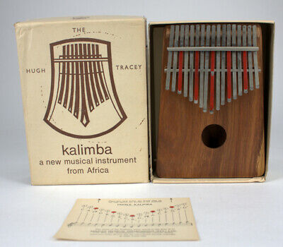 Hugh Tracy 17 Note Kalimba Hand Percussion Instrument - South Africa