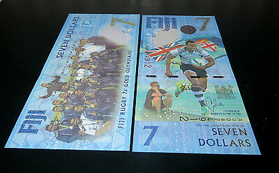 FIJI 7 Dollars  2016, P-120 Commemorative *UNC*