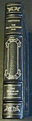 Thucydides HISTORY OF THE PELOPONNESIAN WAR Franklin Library LEATHERBOUND MINT