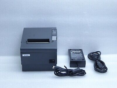 Epson TM-T88IV POS Thermal Printer M129H With Power Supply