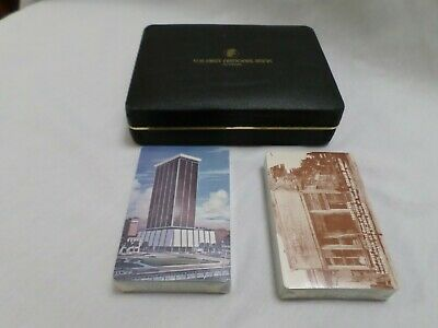 First National Bank Of Tampa Florida Souvenir Double Pack Playing Cards  NEW