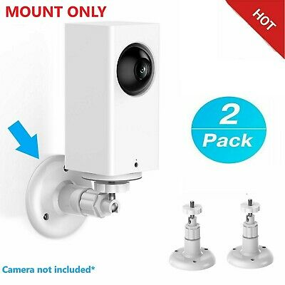 Wyze Cam Pan WALL MOUNT indoor/outdoor 1080p Wi-Fi Smart Home Security (2 Pack)