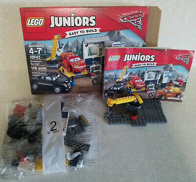 Lego Juniors Smokey S Garage Cars 3 Set 10743 From Japan With