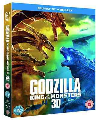 Godzilla: King of the Monsters (3D + 2D Blu-ray) NEW / SEALED - PRE-ORDER