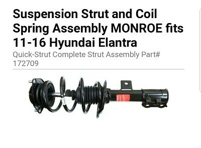Suspension Strut and Coil Spring Assembly Rear Left Monroe 172214
