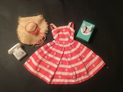 Vintage 1960's Barbie Doll Outfit, #956 Busy Morning, Excellent Dress!