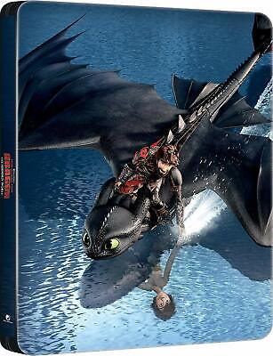 How to Train Your Dragon: The Hidden World (Blu-ray Steelbook) BRAND NEW