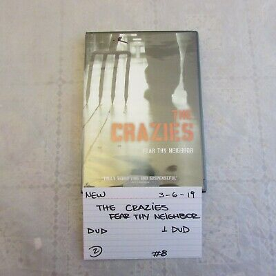 brand new The Crazies Fear Thy Neighbor DVD- Radha Mitchell 0306