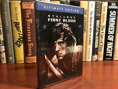 First Blood DVD Sealed Ultimate Edition Widescreen 1982 Classic Action Drama