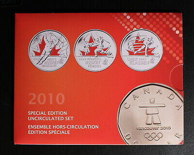 Canada 2010 - Special Edition - Mint Set - Magnetic Penny - Olympic Loonie