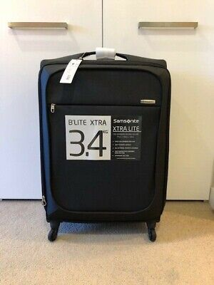 Samsonite Suitcase Black, Brand New, Xtra Lite