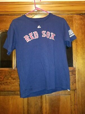 brand new 1efff f7aec BOSTON RED SOX Official MLB Genuine Kids Youth Size Xander ...