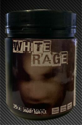 White Rage Crazy Preworkout at A Crazy Price! Manufacturer direct! 35 doses