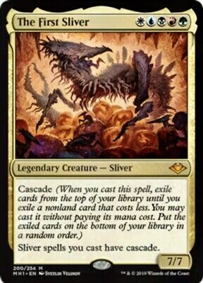 *** 1x The First Sliver NM - IN HAND*** Modern Horizons x1 MTG