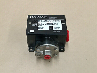 Ashcroft B424V Industrial Control Equipment Enclosure 60Psi