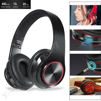 B39 Wireless Headphones Stereo Bluetooth Headset Noise Cancelling Over Ear W/Mic