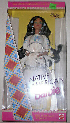 New Unopened 1992 Native American Barbie #1753 Special Edition By Mattel NRFB