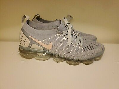 5510f480ac NIKE AIR VAPORMAX Flyknit Pure Platinum Wolf Grey 849558-004 Size 10 ...