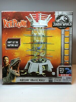 Jurassic World Klerplunk Raptors Game