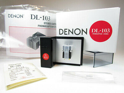 Denon DL-103 moving coil cartridge. Brand new stock with warranty.