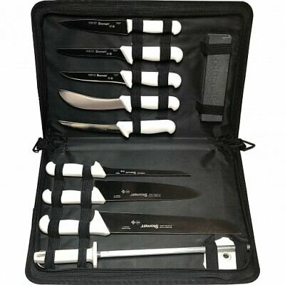 BKW-11 Professional Butchers Knife Set - 11 Piece