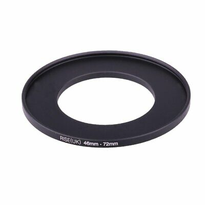 46-72mm 46mm- 72mm Metal Step Up Lens Filter Ring Stepping Adapter 46-72