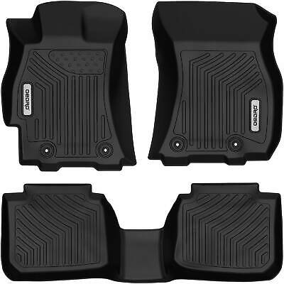 OEDRO Floor Mats TPE Full Set Liners Fit for 2015-2019 Subaru Legacy Outback