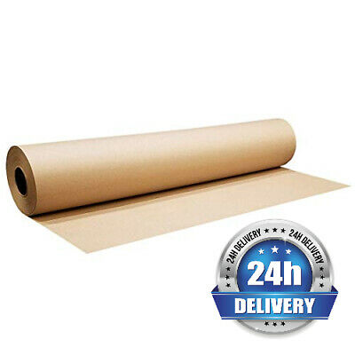 Heavy Duty Kraft Paper Roll 1150mm x 200M Brown Wrapping Packing Packaging 90GSM