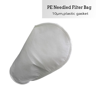 Inc 88-0049//50 Rosedale Products PE-100-P2S Polyester Felt Filter Bag White 100 /μ Pack of 50