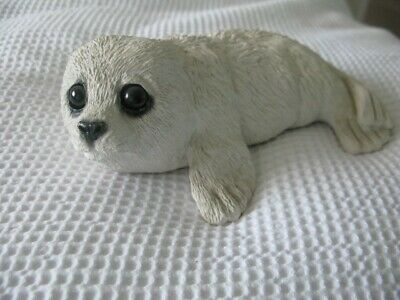Harp Seal figure by Animal Classics of USA Unboxed, old and used but GC