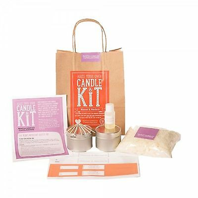 Make Your Own Candle Kit Northumbrian Candles Mimosa Mandarin Soy Wax Gift