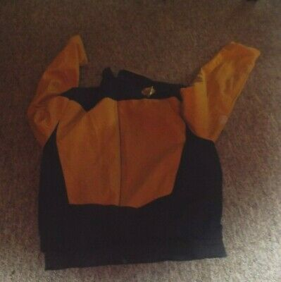 Star Trek Original Series Top Warp One Hand Made In Wales With Badge And Pips
