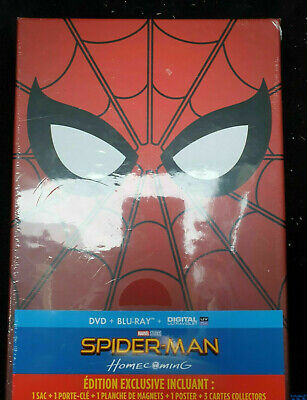 Coffret Blu-ray + DVD - SPIDER-MAN - Édition Exclusive - NEUF.