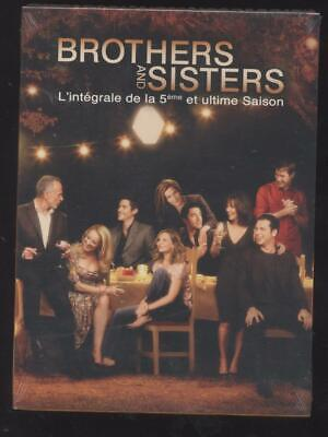 NEUF COFFRET 6 DVD BROTHERS AND SISTERS  INTEGRALE SAISON 5 SERIE TV 22 épisodes