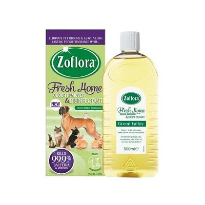 Zoflora Fresh Home Pet Odour Remover & Disinfectant Green Valley 500ml