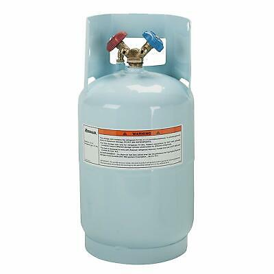 Refrigerant cylinder recovery tank portable reusable steel freon reclaim 30 lb