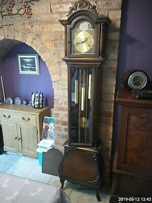 antique longcase grandfather clock Tempest Fudgit