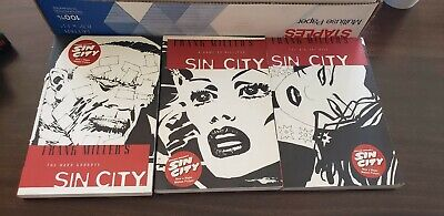 Sin City Frank Millers Graphic Novel Volumes 1-3