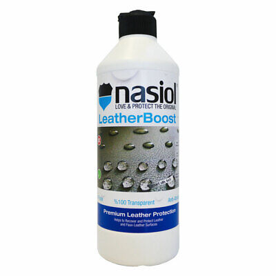 Nasiol LeatherBoost Premium Leather Protector (500ml)