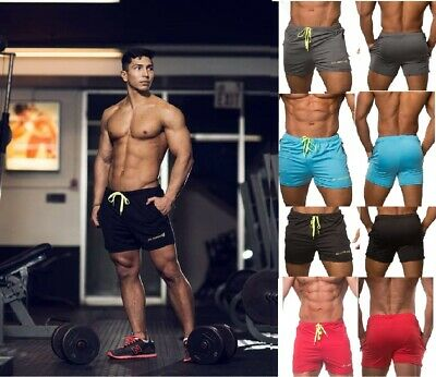 Jed North Men's Fitted Shorts Bodybuilding Workout Gym Running Tight Lifting⭐⭐⭐⭐