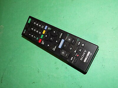 SONY Official Remote Control Unit TV Television RM-ED062 Black Genuine