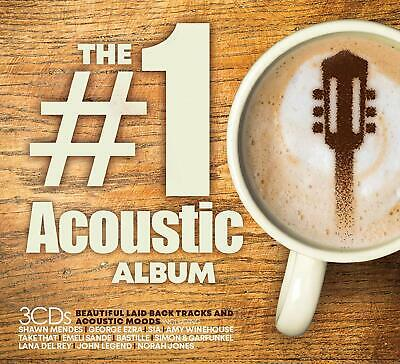 THE #1 ACOUSTIC ALBUM - Shawn Mendes George Ezra [CD] Released On 28/06/2019