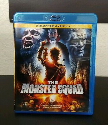 The Monster Squad (Blu-ray Disc, 2009, 20th Anniversary Edition) OOP Lionsgate