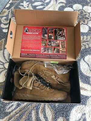 ROCKY C7 CXT LIGHTWEIGHT COMMERCIAL MILITARY BOOT - Size 12 - Color - Coyote