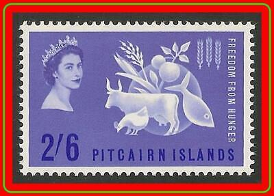 PITCAIRN 1963 FREEDOM from HUNGER SC#35 MNH CV$10.00 UNO/ONU