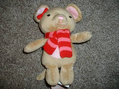 GYMBOREE BRAND NEW BABY STRAWBERRY PLUSH RATTLE TOY 1-SIZE NWT